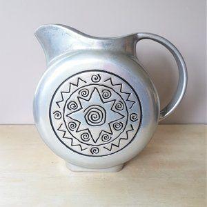 Pewter Wilton Armetale water pitcher.